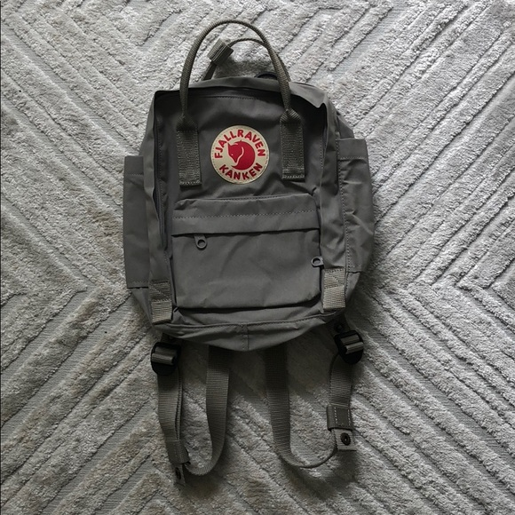 website for discount many styles quality design Fjallraven Kanken Small Gray Backpack